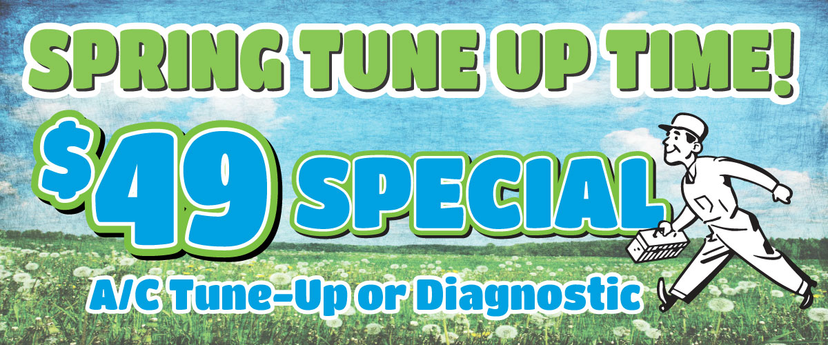 49 dollar Spring Tune Up Special