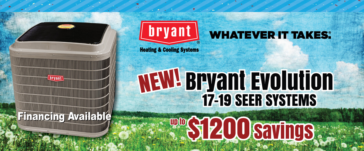 Bryant Air Conditioning Products