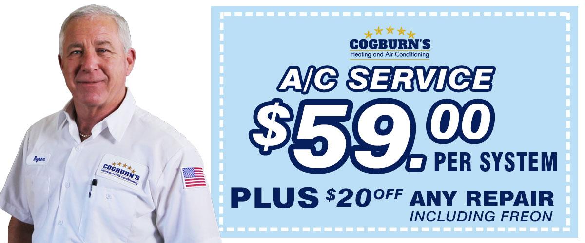 59 Dollar AC Service